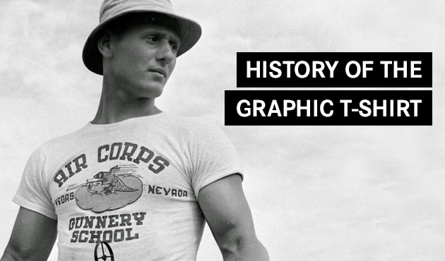afefd7a9 History of the Graphic T-Shirt. history_graphic_tshirt_feature